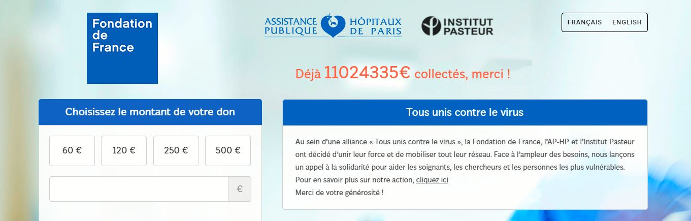 collecte fondation de france