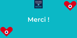 giving tuesday now - merci