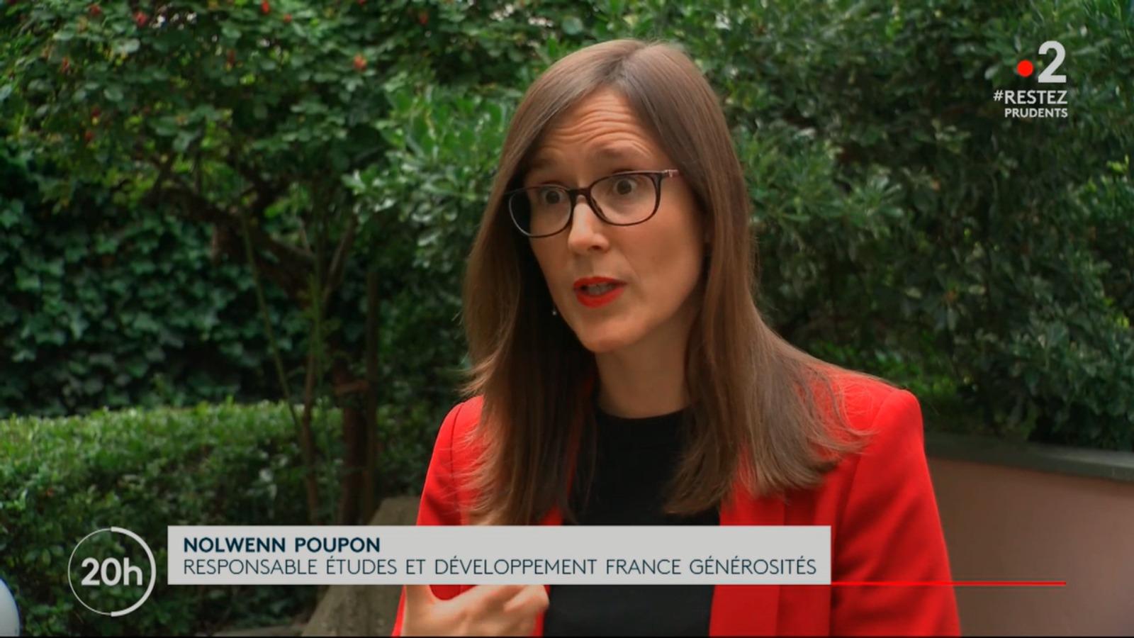 Interview Nolwenn Poupon France 2