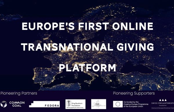 Transnational giving plateforme