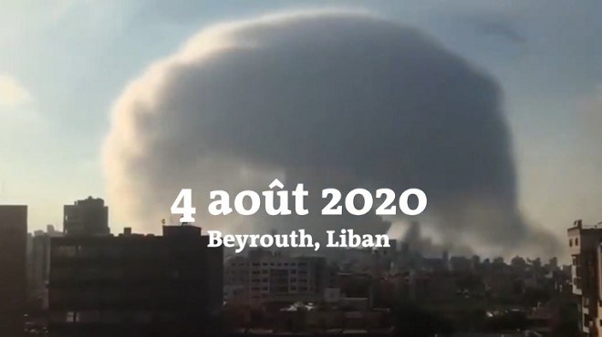 explosions beyrouth urgence liban