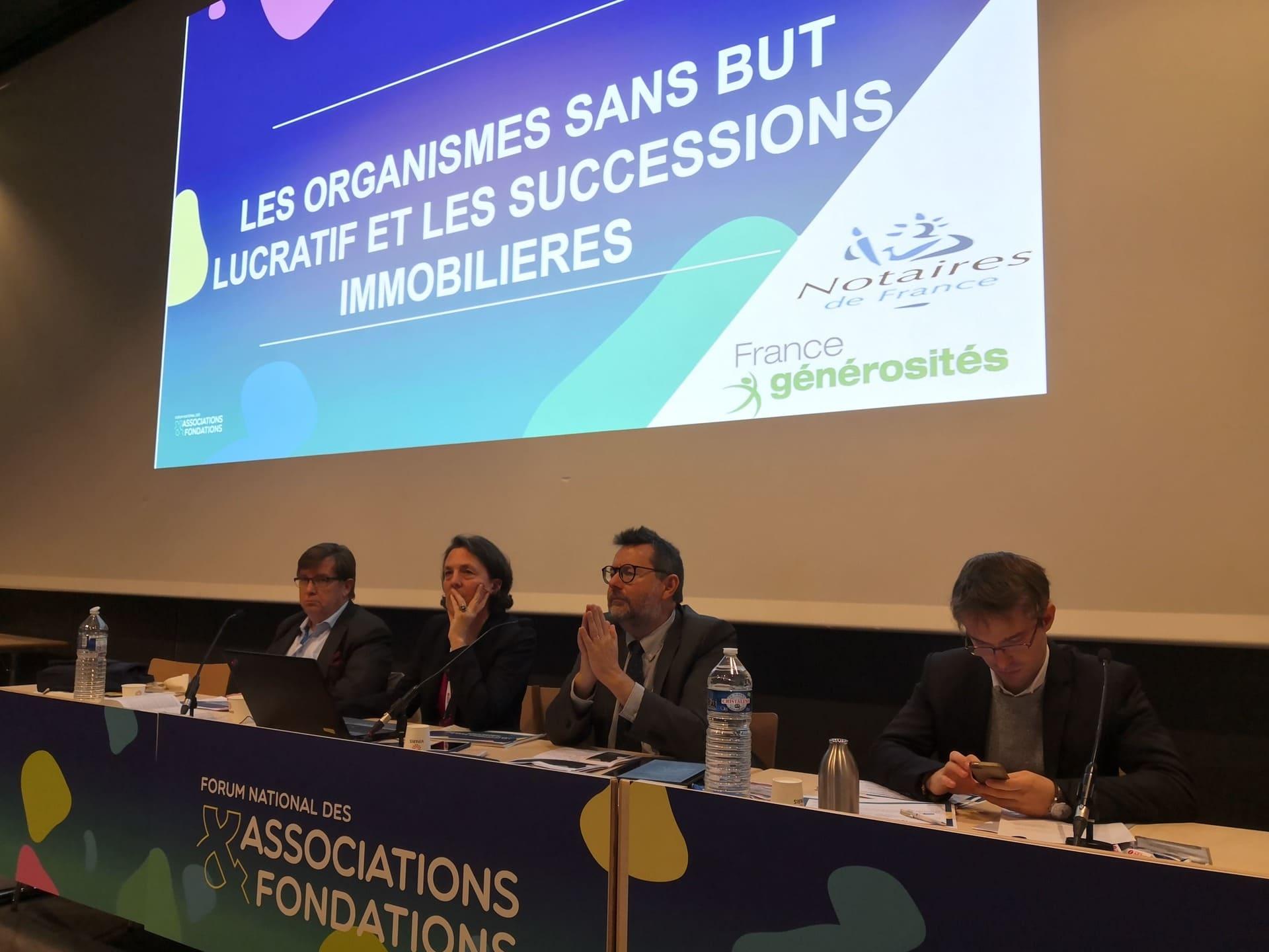 Ann-Sophie de Jotemps au Forum National des associations et fondations