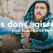 Nouvelle campagne 2020 : Vos Dons Agissent [Communiqué de presse]