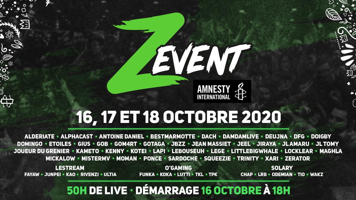 Z event 2020 Amnesty international