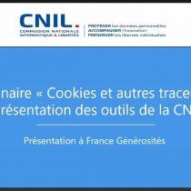 Webinaire avec la CNIL – 10 décembre 2020 <span style=