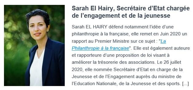 sarah el hairy biographie