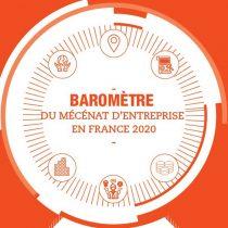 Baromètre du mécénat d'entreprise en France en 2020