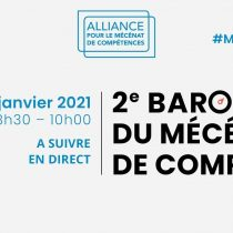 Baromètre du mécénat de compétences – 2ème édition – janvier 2021