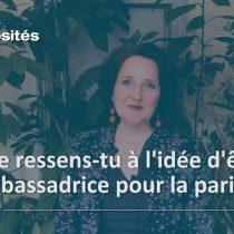 Ambassadrice pour la parité – Edito et interview de Laurence Lepetit