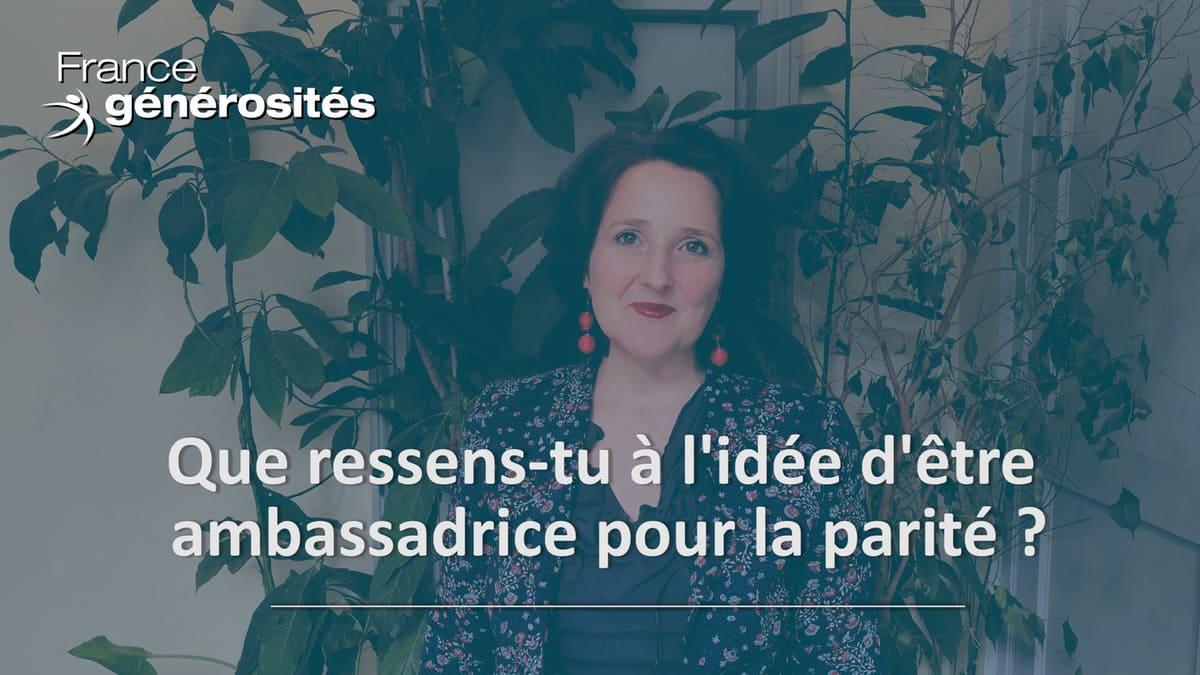 Ambassadrice pour la parité - interview de Laurence Lepetit - 8 mars 2021