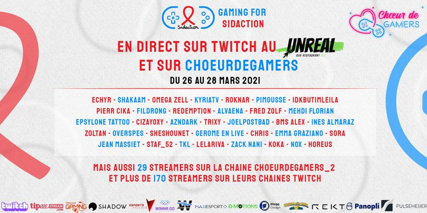 Gaming for Sidaction