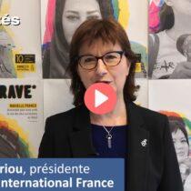La parité chez Amnesty International – Témoignage de Cécile Coudriou