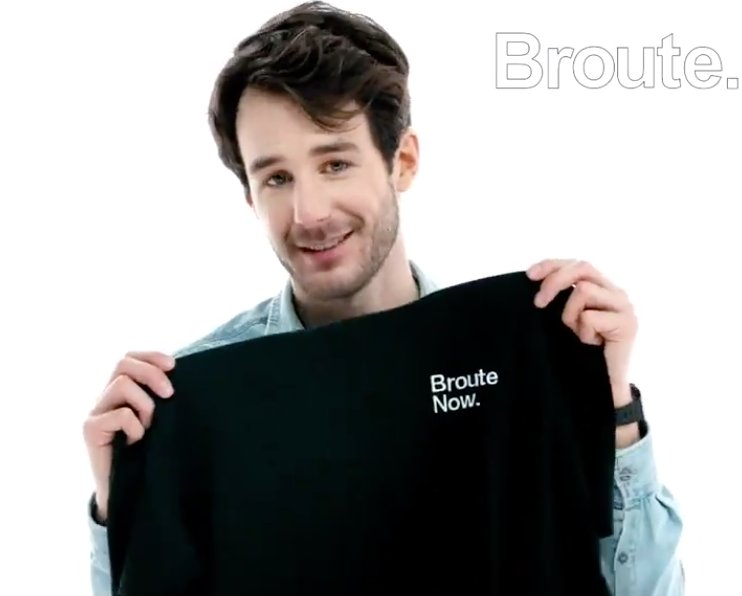 broute now tee shirts vidéo broute