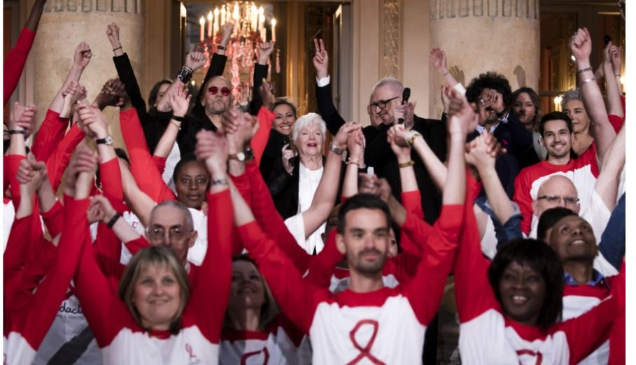 soirée sidaction 2021 line renaud