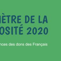 Baromètre de la générosité 2020 – France générosités – mai 2021