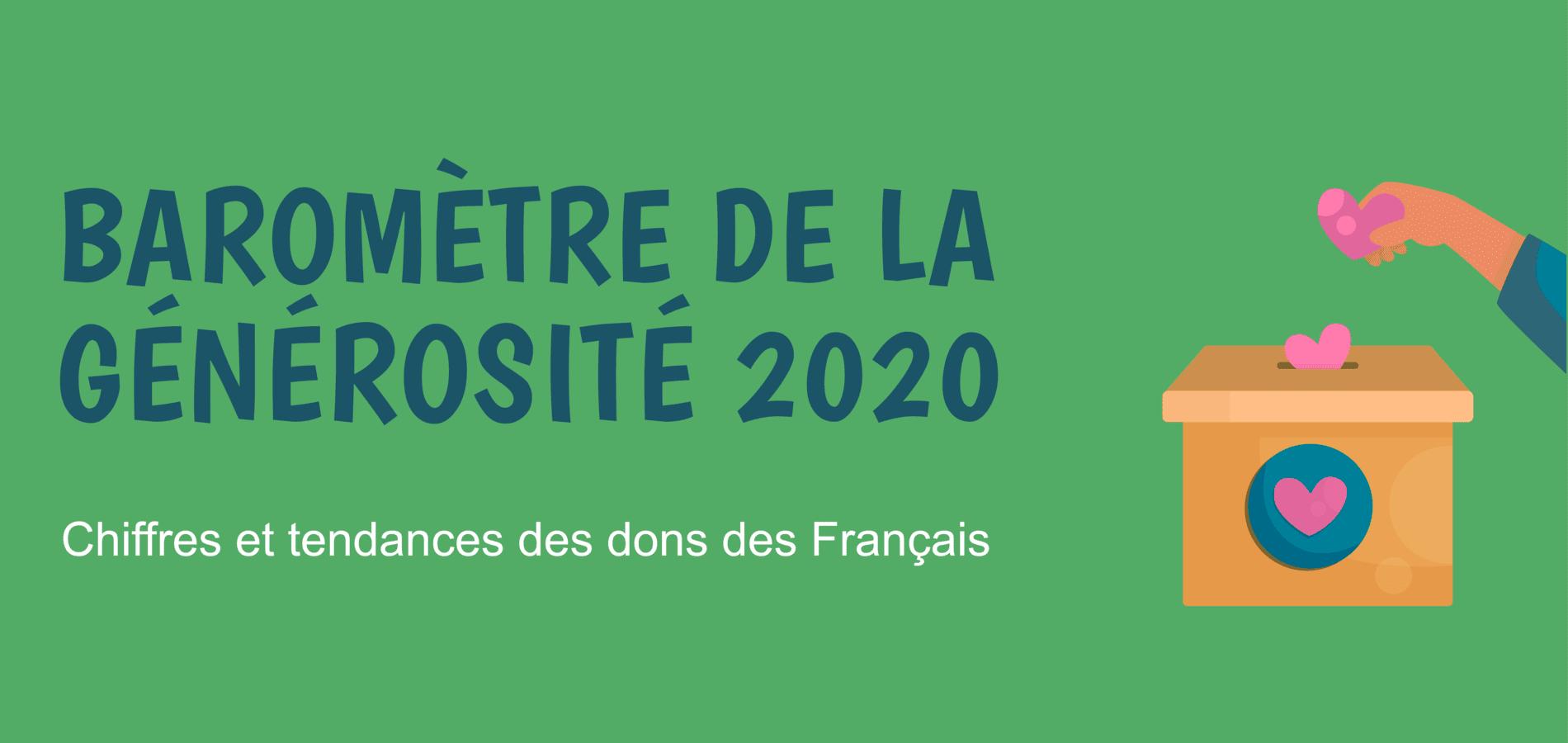 baromètre de la générosité 2020 - couverture site