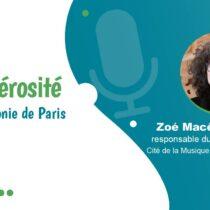 La générosité au sein de la Philharmonie de Paris – Interview vidéo